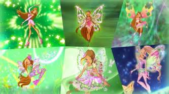 winx club flora transformations tynix hd