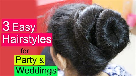 easy party hairstyles for medium hair youtube 3 easy hairstyles for party party hairstyles for medium