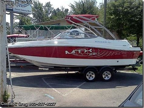 rinker mtx boats for sale 2013 rinker 220 mtx used boats for sale by owners boatsfsbo