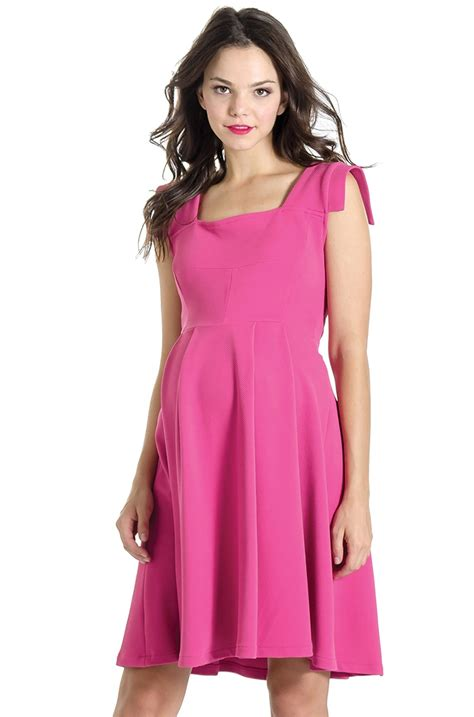 Dress Pesta Maternity Dress maternity dress in pink by lilac bellablumaternity