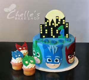 Pj masks cake superheros gekko catboy amp owelette www facebook com