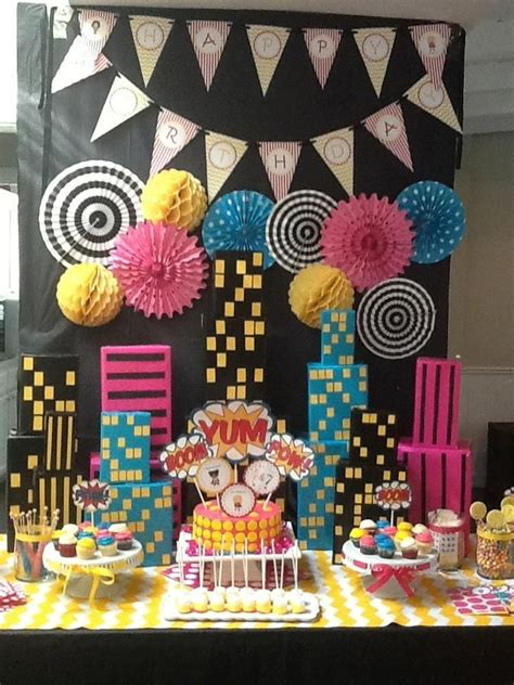 powerpuff girls birthday party my pinterest inspired a super hero party for girls super heroes pinterest