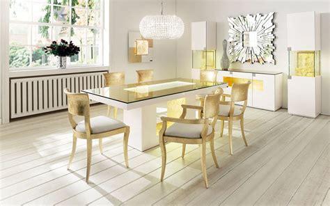glass top esszimmer tische dining table montana with swarovski crystals finkeldei