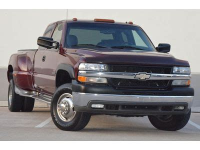 how cars engines work 2002 chevrolet silverado 3500 parental controls sell used 2002 silverado 3500 lt ext diesel dually new engine lthr loaded serviced in houston
