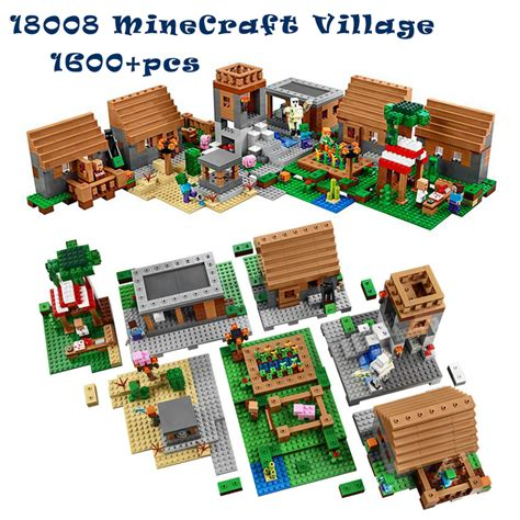 1600 pcs model building kits compatible with lego my