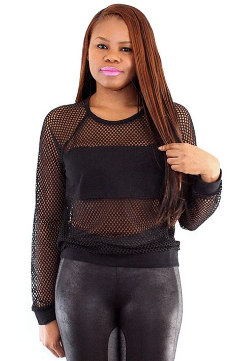 Mesh Top mesh top s clothing