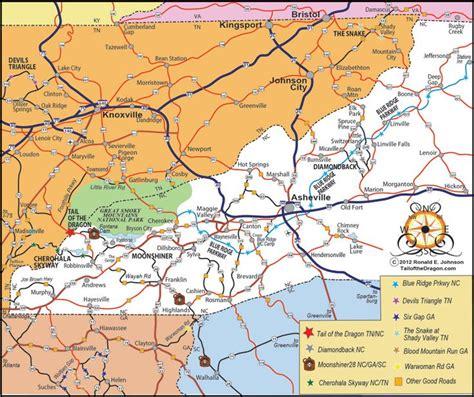 map tennessee carolina carolina georiga tennessee ride map gear