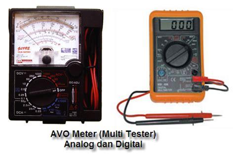 Multimeter Digital Dan Analog berkenalan dan cara menggunakan avo meter multimeter