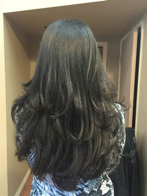 Layer Hair Irvine Ca   long layer haircut best hair salon irvine 92612 92604