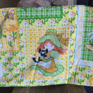 holly hobbie flat vintage sheet floral sheet bedding