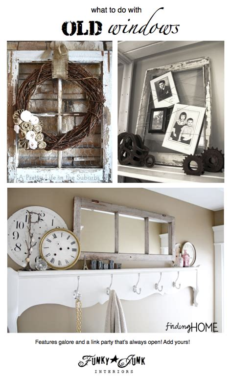 217 ideas on what to do with old windowsfunky junk interiors