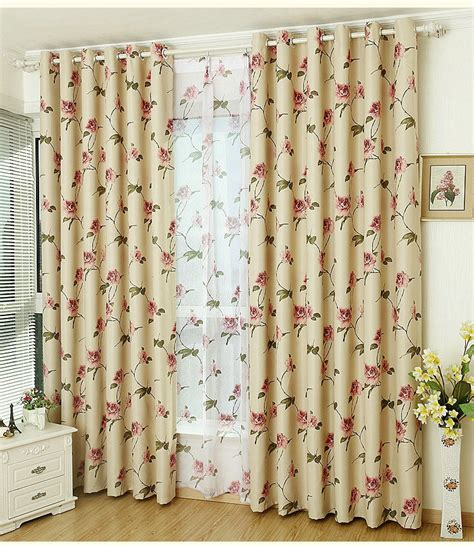 Floral Curtains For Living Room by Aliexpress Buy New Arrival Rustic Curtain For Living