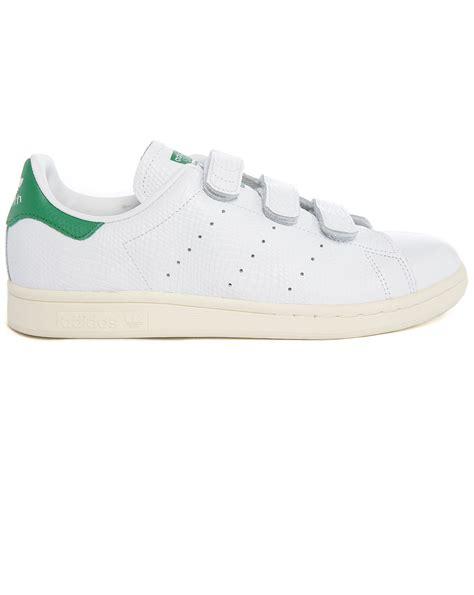 adidas velcro adidas originals stan smith velcro white embossed leather