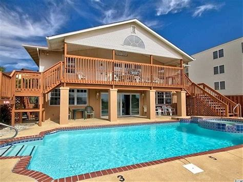North Myrtle Beach Oceanfront House For Sale Myrtle Oceanfront Houses