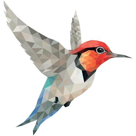 imagenes de aves sin fondo sticker origami colibri stickers animaux oiseaux