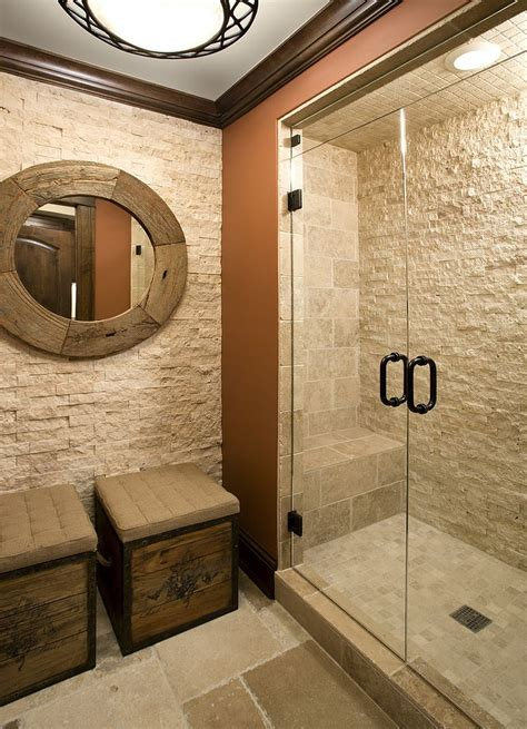 stone bathroom showers 30 exquisite and inspired bathrooms with stone walls