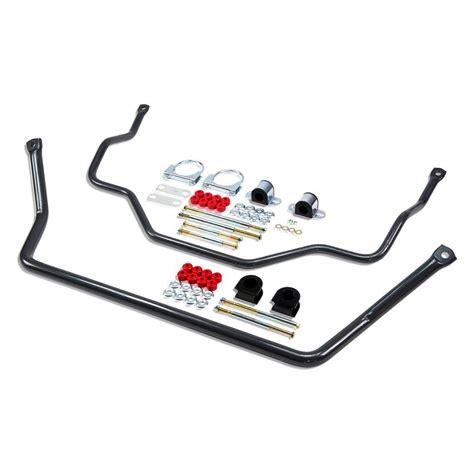 anti sway bar belltech 174 9906 front and rear anti sway bar kit