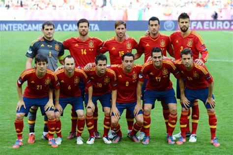 spanish football team euro 2012 spanish football soccer sports blog