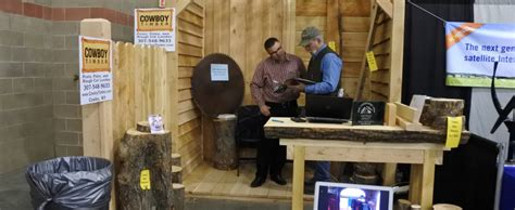 cowboy timber at the billings home improvement show