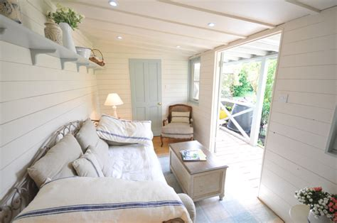 summer house interior finish off the look by hanging decorations from the sides for a summer beach hut