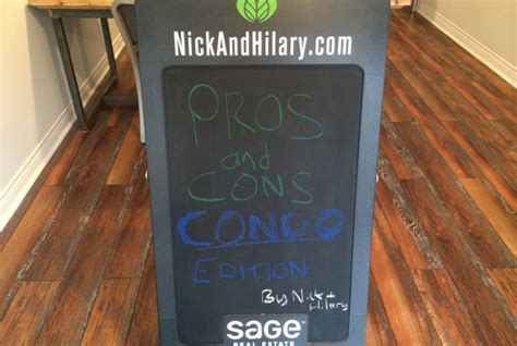 what are the pros and cons of buying a house pros and cons of buying a condo nick and hilary