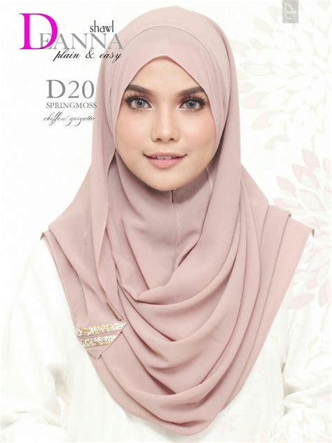 Harga Termurah Hoodie Wajik Glitter norzi beautilicious house tudung deanna instant shawl