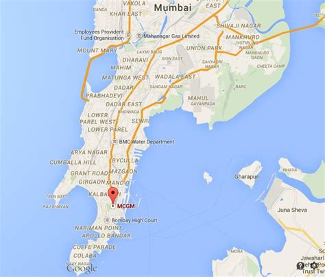 where is mumbai on the world map where is bmc on map mumbai world easy guides