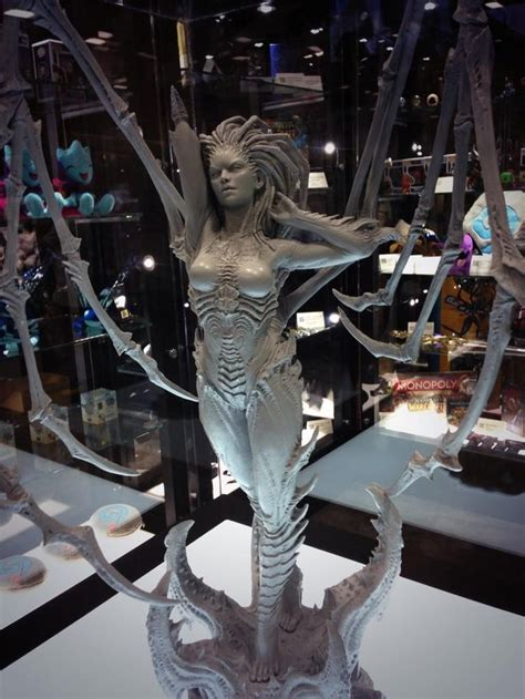 amazing life sized starcraft queen of blades statue photo 17 best images about game on pinterest legends adoption