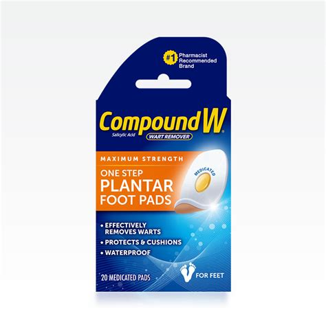 compound w 174 plantar wart removal pads for