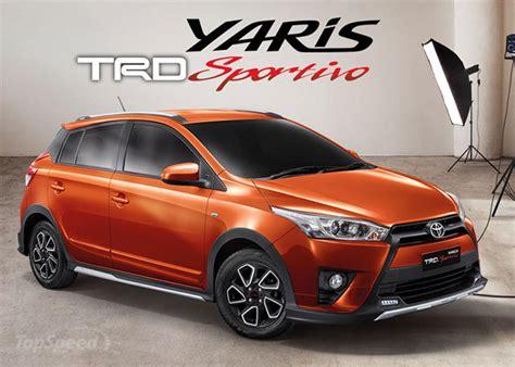 Toyota Yari 2016 Toyota Yaris Trd Sportivo Gets Exterior Interior