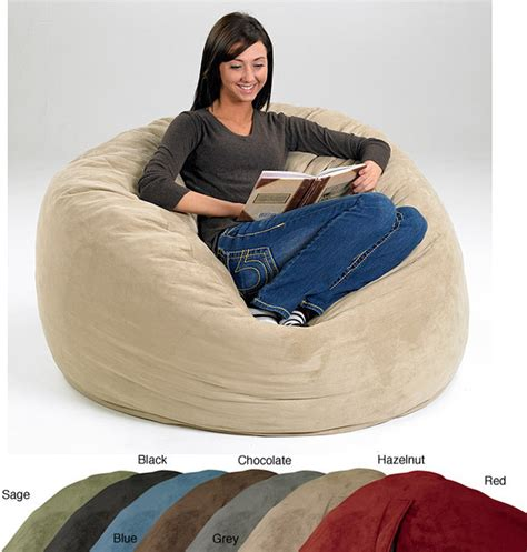 Memory Foam Bean Bag Chair by Large Memory Foam Bean Bag Contemporary Chairs