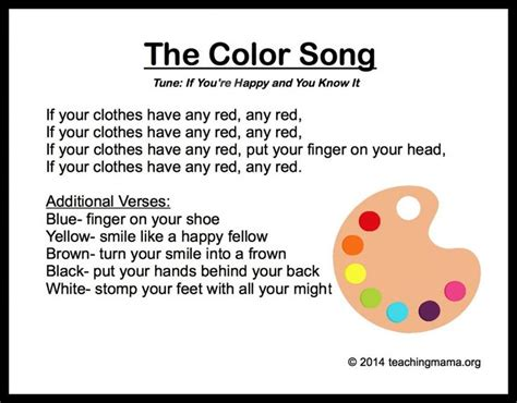 songs for toddlers 10 preschool songs about colors preschool songs songs