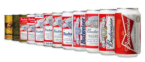 old bud light can budweiser unveils new bowtie can design the drum