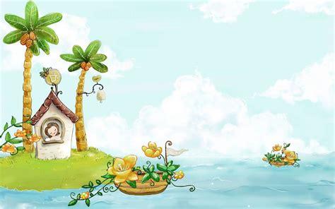theme ppt cartoon 儿童节创意幻灯片背景图片 ppt宝藏提供