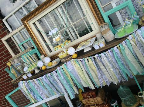 Vintage Bridal Shower Ideas by Vintage Baby Shower With Mint And Gray Baby Shower Ideas Shops