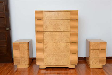 an expansive american art deco bedroom set at 1stdibs american art deco 8 pc bedroom set image 9