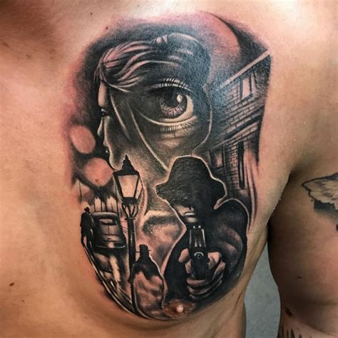 gangsta tattoos 50 best gangster tattoos designs meanings 2019