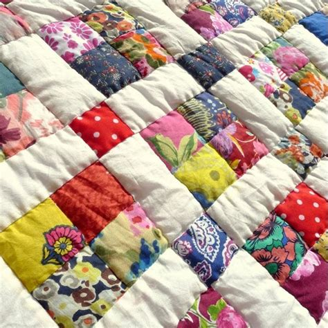 Handmade Custom Quilts - confetti handmade stitched quilt the world of quilts