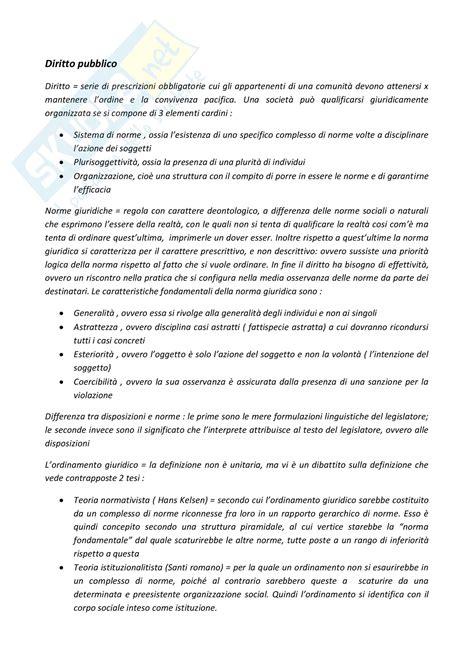dispensa diritto pubblico prima parte appunti di diritto