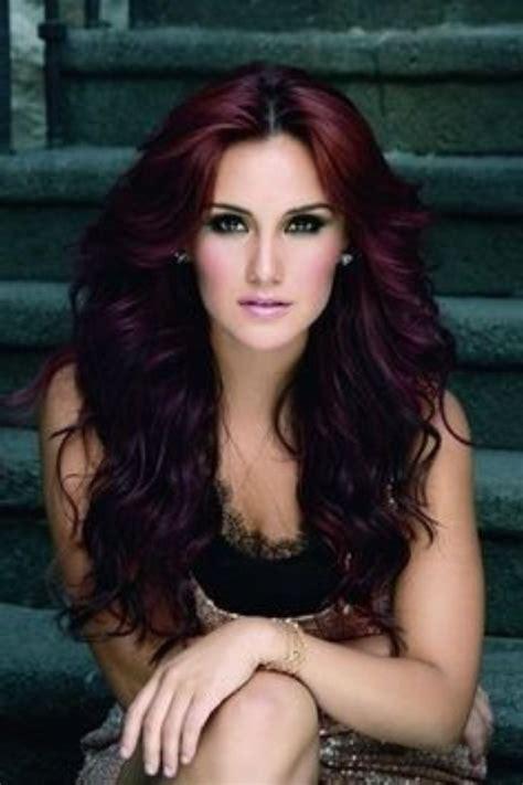 cute hair color ideas for redheads cute dark red hair colors ideas hairstyles trend