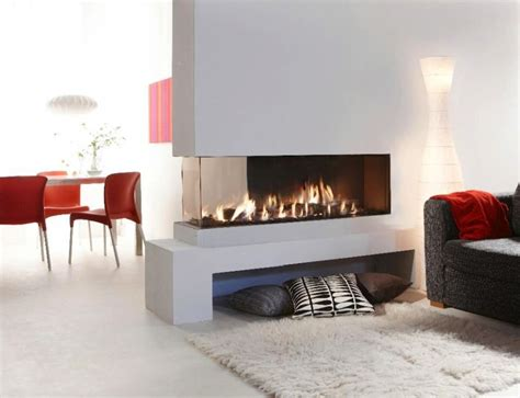 2 Way Electric Fireplace 20 gorgeous two sided fireplaces for your spacious homes