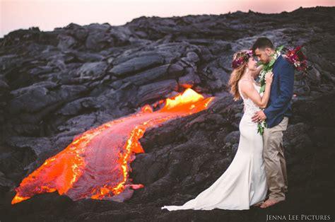 living on the volcano couple has unique wedding photoshoot on active arabia weddings