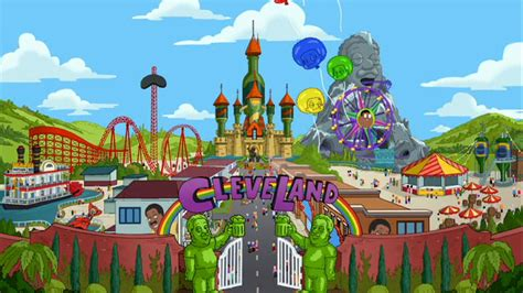 theme park wiki cleveland theme park the cleveland show wiki fandom