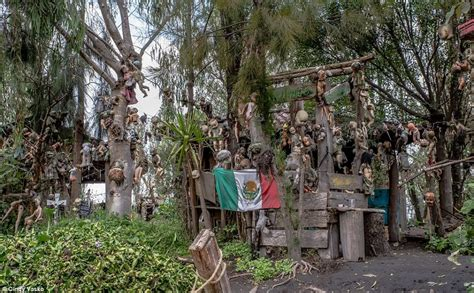 the haunted doll island this is the the creepiest destination on
