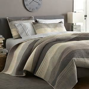 Crate And Barrel Duvet Sedona Grey Quilts And Pillow Shams Crate And Barrel