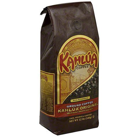 Kahlua Coffee kahlua original ground coffee 12 oz pack of 6 walmart