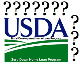 questions with usda home loan in washington state
