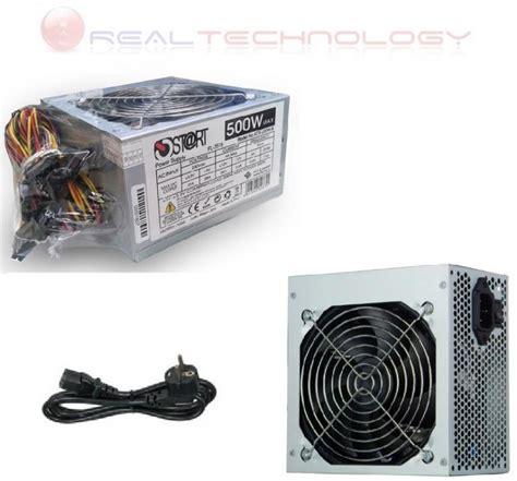 alimentatore pc 500 watt alimentatore pc 500 watt atx btx 24 pin 20 4 pin 3 sata 2