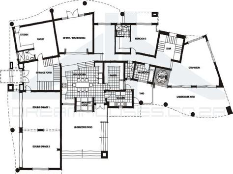 modern villa floor plans contemporary house floor plans very modern house plans