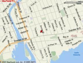 belleville carte et image satellite